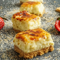 Creme Brulee Cheesecake Bars