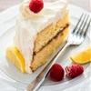 Lemon Raspberry Cream Cake