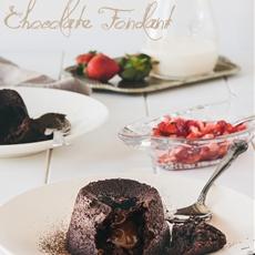 Flourless chocolate fondant