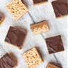 Millionaires Caramel Krispie Squares