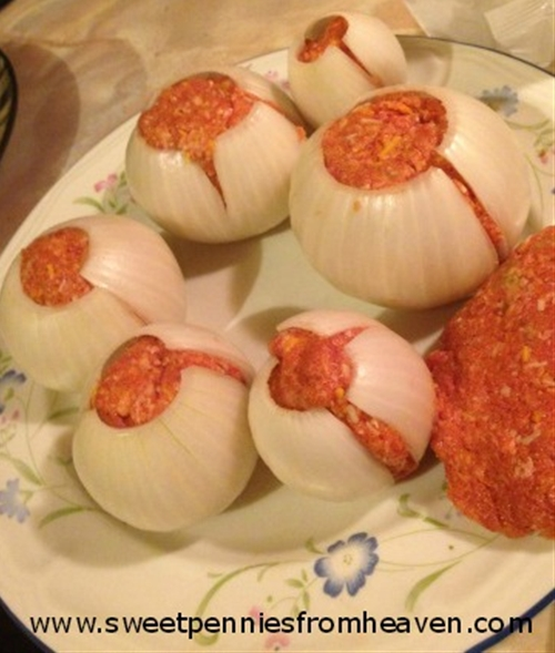 Grilling Recipe: Onion Bombs!