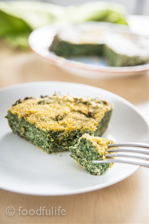 Easy Spinach Flan