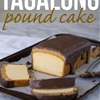 Super Easy Tagalong Pound Cake