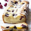 Cherry Cream Cheese Coffee Cake with Vanilla Cream Cheese Glaze