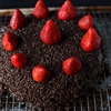 BRAZILIAN CHOCOLATE CAKE WITH STRAWBERRIES