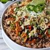 Cheesy Chicken Enchilada Bowls