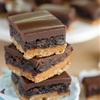 Oatmeal Caramel Truffle Brownies
