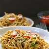 Eat Good 4 Life Spaghetti with kale and walnut pesto