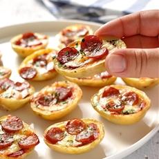 Mini Pizza Potato Skins