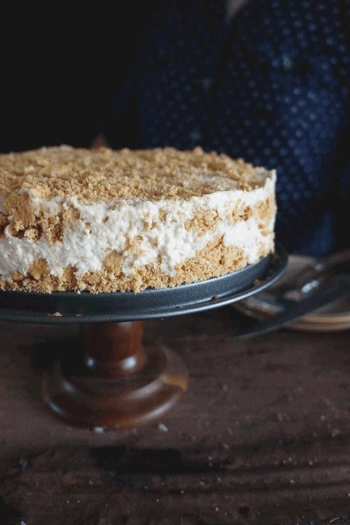 PHILADELPHIA CREAM CHEESE FRIDGE MANGO CAKE