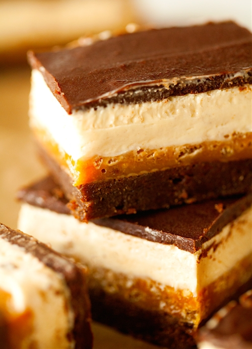 Four Layer Everything Crunch Bars