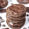 Decadent Triple Chocolate Grasshopper Cookies