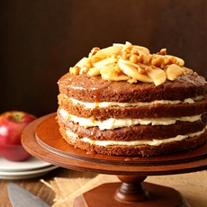 Caramel Apple Butter Layer Cake
