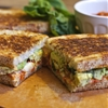 Big Sur Grilled Cheeses with Slow-Roasted Cherry Tomato Jam