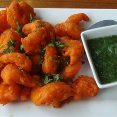Chingri (Shrimp) Pakora
