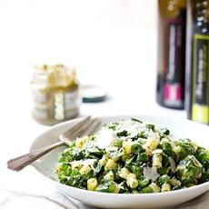 Five Ingredient Simple Green Pasta Salad