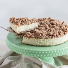 New York Crumb Cheesecake