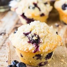 Homemade Blueberry Muffins