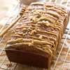 Honey Peanut Butter-Glazed Apple Bread