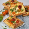 Easy Tomato and Ricota Tarts
