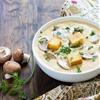 Creamy Mushroom Cheddar Soup