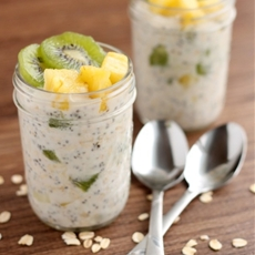 Tropical Overnight Oats