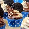 Peanut Butter Oreo Cupcakes