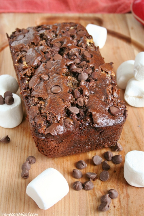 Mexican Hot Chocolate Banana Bread