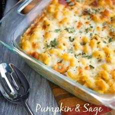 Pumpkin & Sage Baked Macaroni
