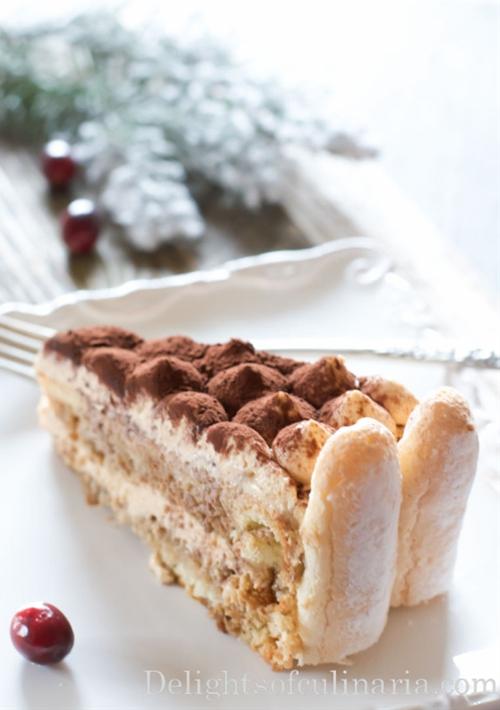 Dulce de leche Tiramisu Cake