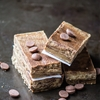 Healthy Homemade Cookies & Cream Protein Bars