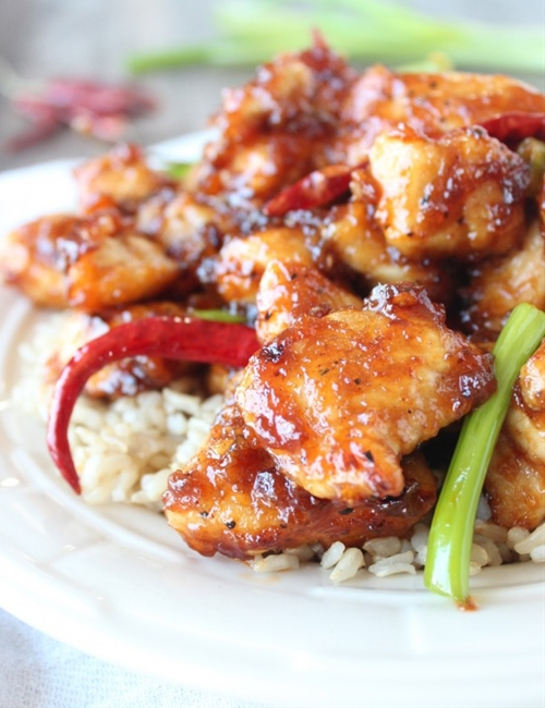 Gluten Free General Tsos Chicken