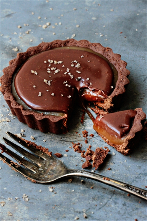 Chocolate Caramel Tarts