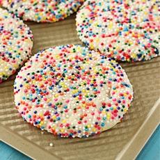 Sprinkled Sugar Cookies