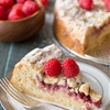 Raspberry Almond Coffee Cake