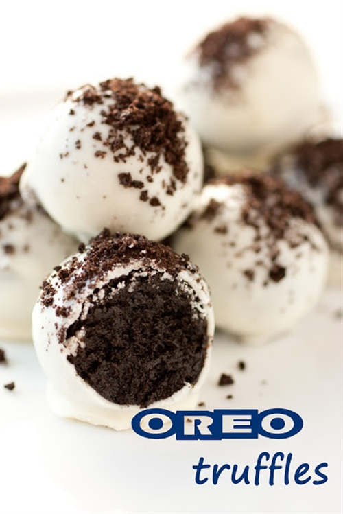 Oreo Truffles Two Ways