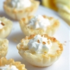 Mini Lemon Tarts with Toasted Coconut