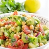Chickpea and Avocado Garden Salad