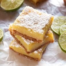 Gluten-Free Margarita Bars