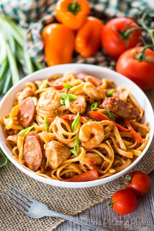 One Pot Spicy Cajun Pasta