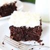 Chocolate Zucchini Coconut Cake