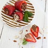 Chocolate Mousse-Filled Strawberries (Dairy Free!)