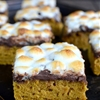 Pumpkin Smores Bars