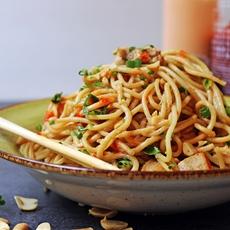 5 Ingredient Asian Peanut Noodles
