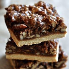 Paleo & Vegan Salted Caramel Pecan Pie Brownies