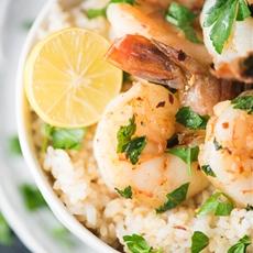 15-Minute Herbed Lemon Garlic Shrimp