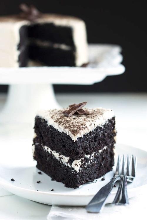 The Ultimate Dark Chocolate Cake