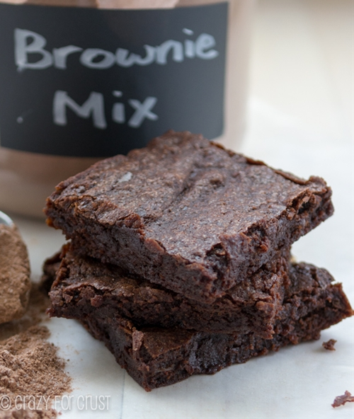 The Best Homemade Brownie Mix