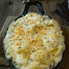 Mushroom, sage mac and cheese
