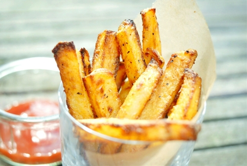 Oven Baked Crispy French Fries